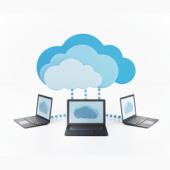 Cloud computing - illustration