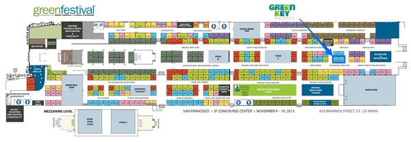 Green Festival SF Floorplan 2013 picture