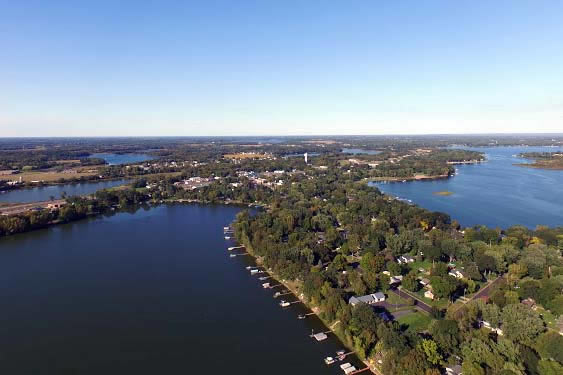Little Green, Chisago Lake & Downtown