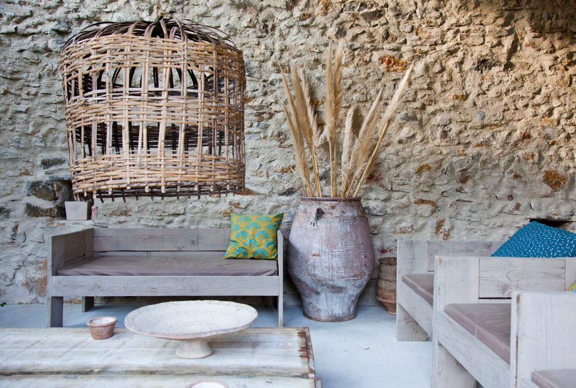 Salon de jardin. © Elodie Rothan