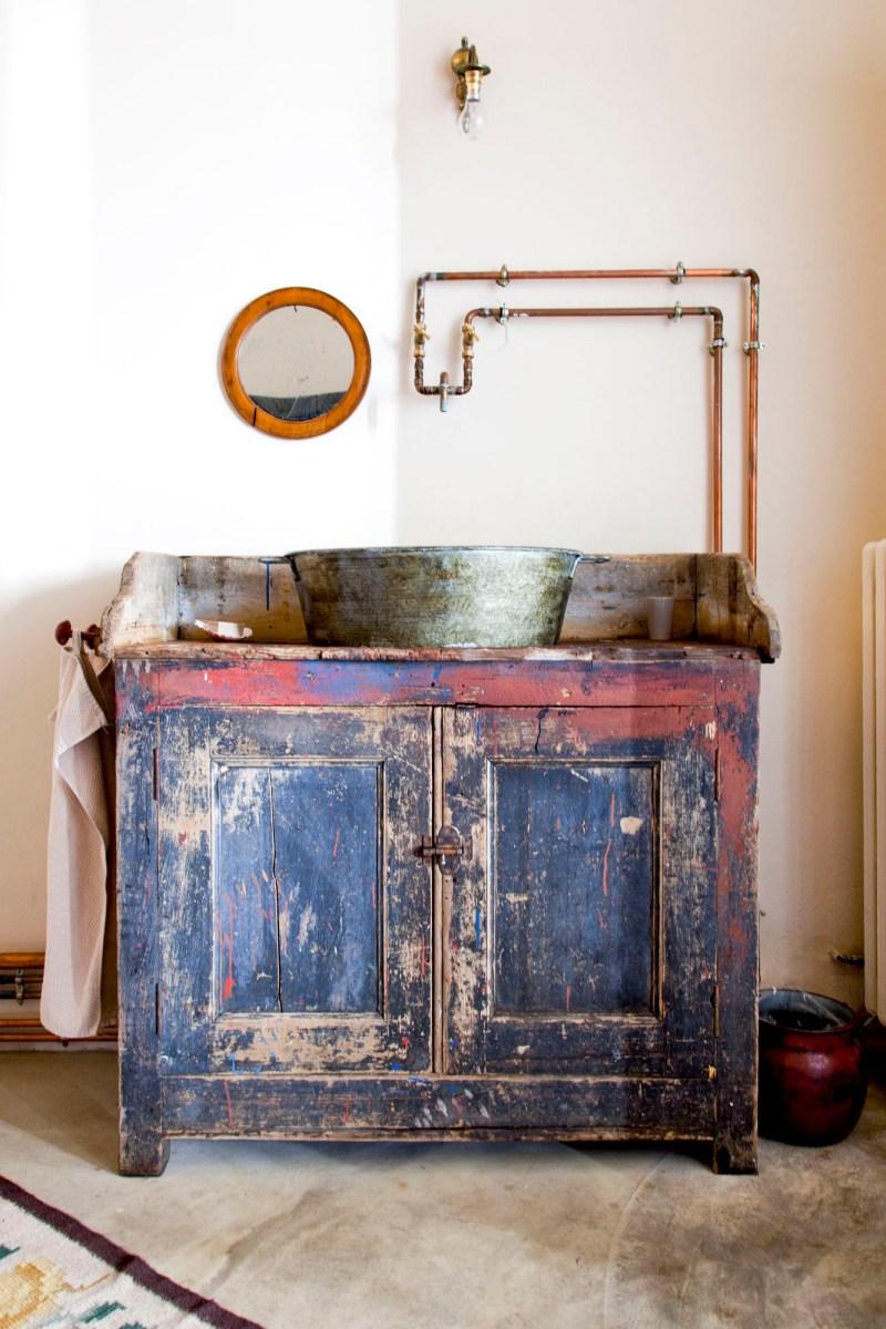 La salle de bains. © Elodie Rothan