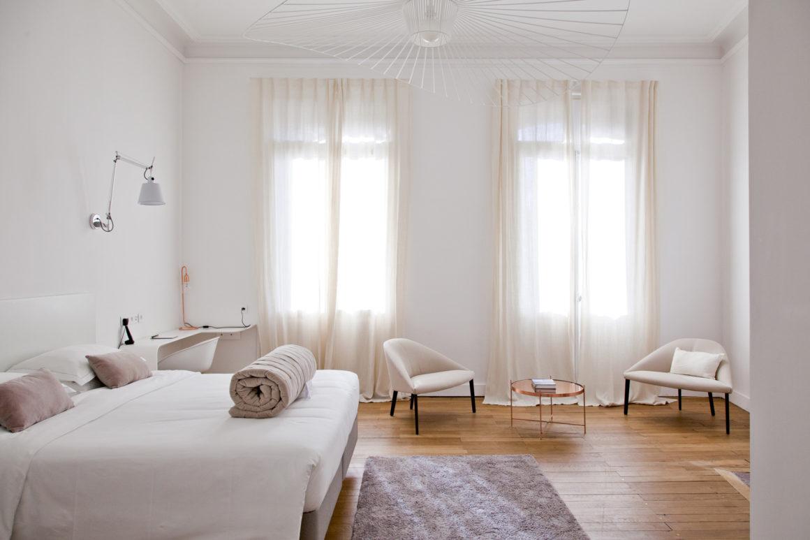 Chambre, Hôtel Particulier, Béziers.