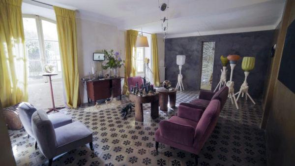 Maison d'hôte Chambre avec Vue à Saignon, dans le Luberon.