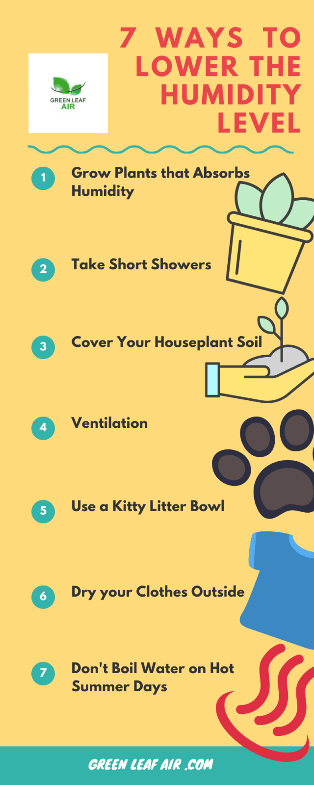 7 Ways To Lower The Humidity Level