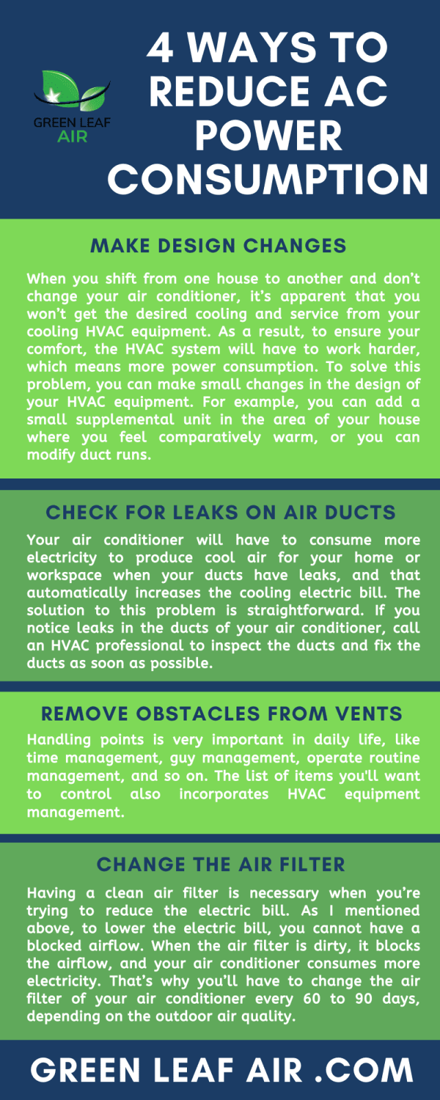 4 Ways to Reduce AC Power Consumption
