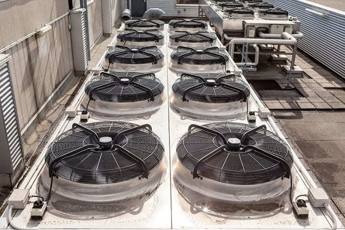 Commercial HVAC System Rooftop