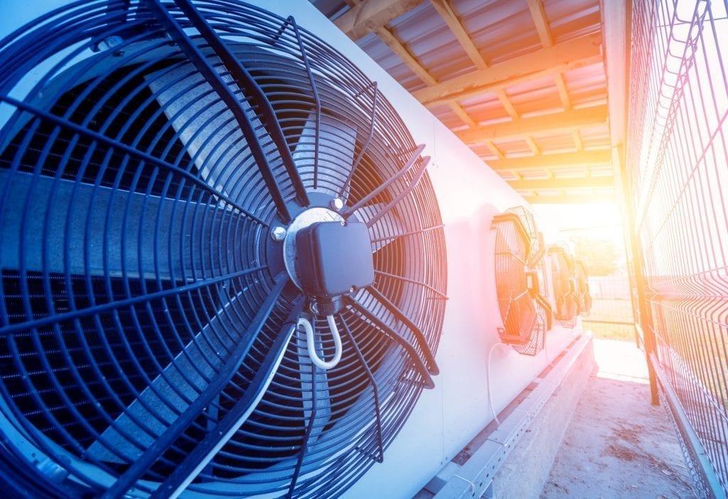 Commercial HVAC Unit Fan