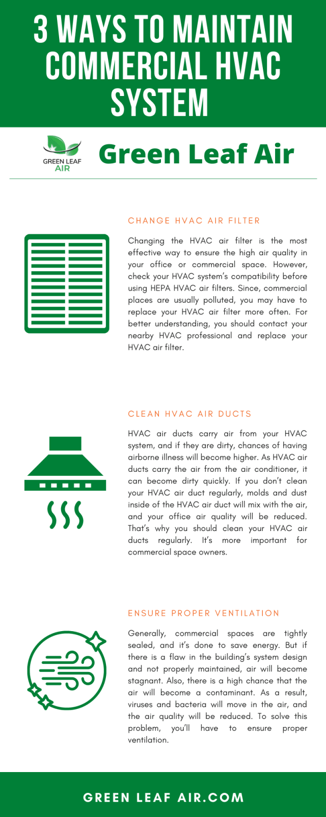 3 Ways to Maintain Commercial HVAC System