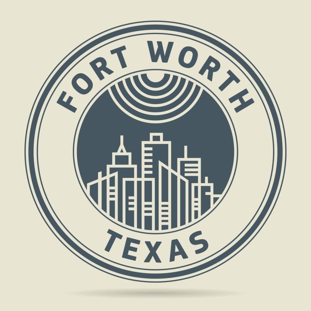 Fort Worth Stamp