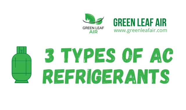 3 Types of AC Refrigerants