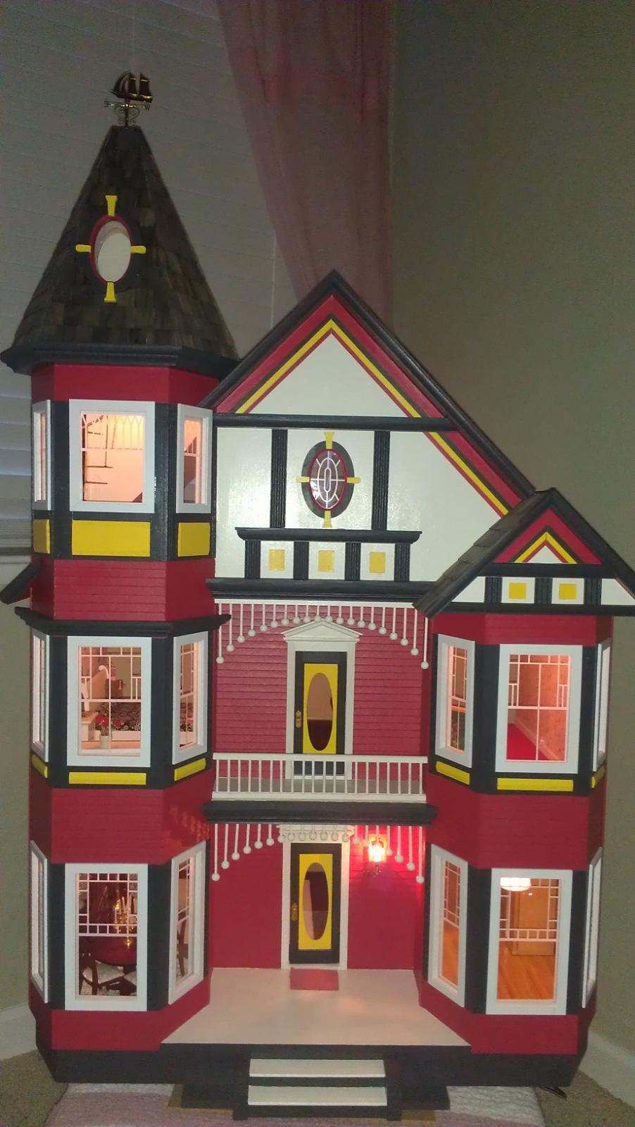 Katies Painted Lady My First Dollhouse The