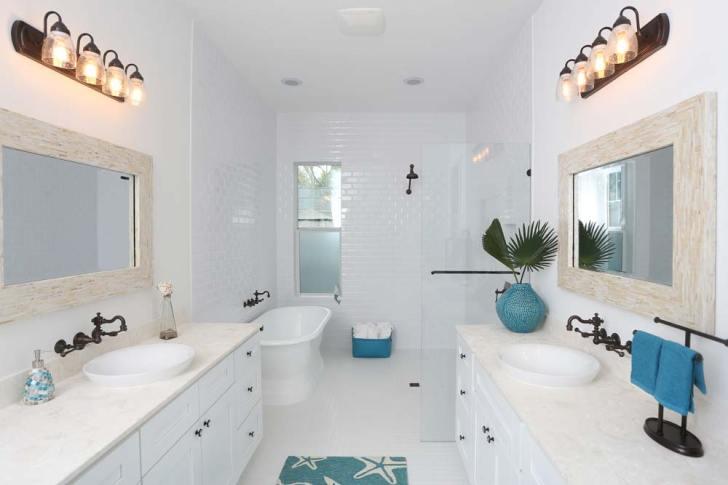 Bright and Modern Styled Bathroom