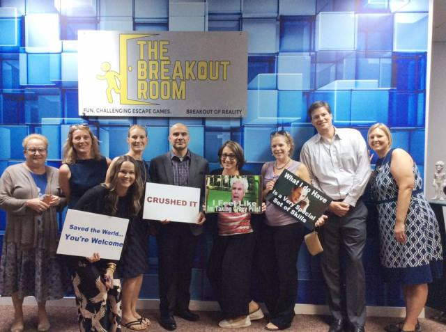 Green Light Escape Room Wilmington S Corporate Team