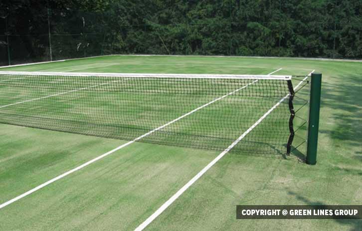 Realizzazione campo da tennis a Tradate