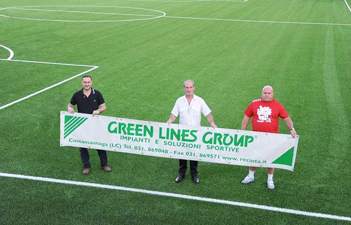 Green Lines Group (costruzione impianti sportivi): il team
