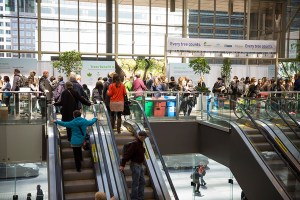 Line up for admission 2017 Green Living Show