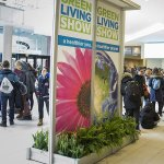 2017 Green Living Show entrance