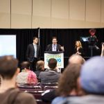 Eric Novak speaks at the 2017 Green Living Show