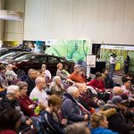 Main Stage audience at the 2017 Green Living Show
