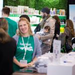 Live Clean exhibits at the 2017 Green Living Show