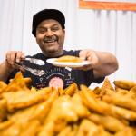 Chef Tony Sabherwal of Magic Oven at the 2017 Green Living Show