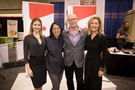 L to R: Kathleen Krimker, President & CEO, Green Living Show, Joyce Sou, Director, B Lab Canada, Craig Ryan, Director of Social Entrepreneurship, BDC, Laurie Simmonds, President & CEO, Green Living Enterprises