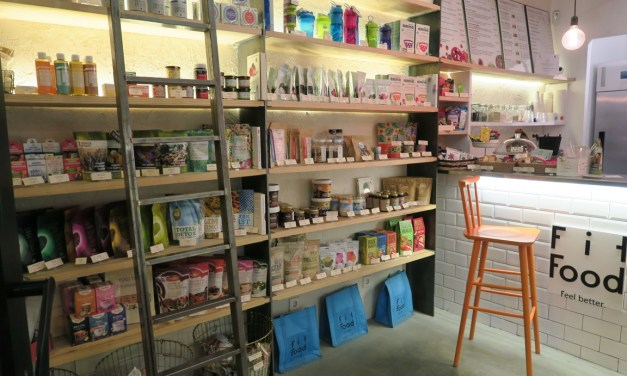 Fit Food in Madrid: cold-pressed juice bar!