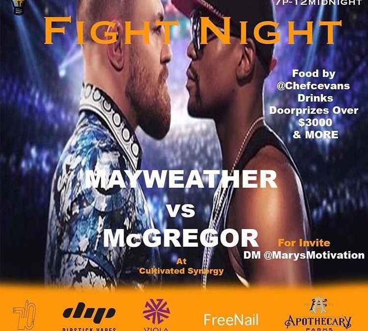 Mary's Motivation Fight Night Watch Party