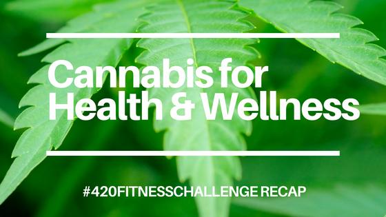 Cannabis for Athletes #420fitnesschallenge Recap