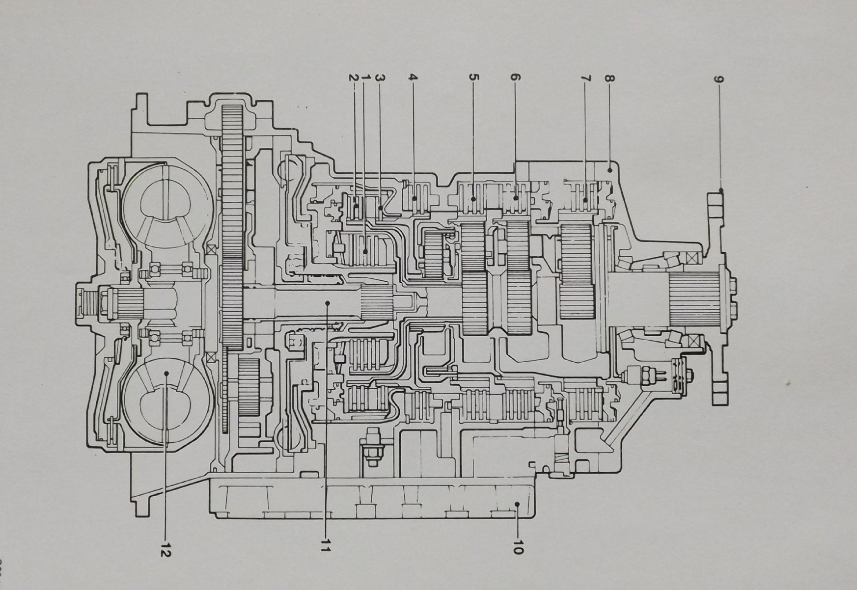 Zf Hp 600 Drops Automatic Gearbox Illustrated Parts