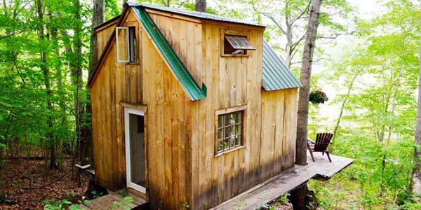 Come Costruire Una Romantica Casa Nel Bosco Con 4mila