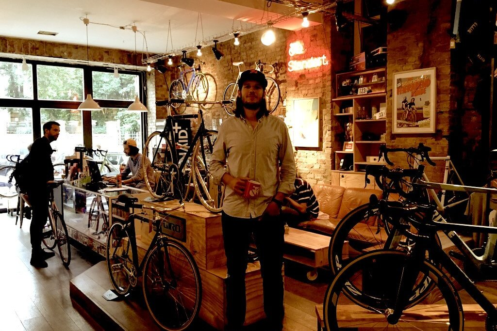 Standert Bicycles - Interview Benedict, in store