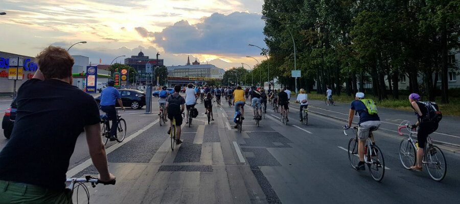 Critical Mass Berlin, March | GreenMe Berlin Events