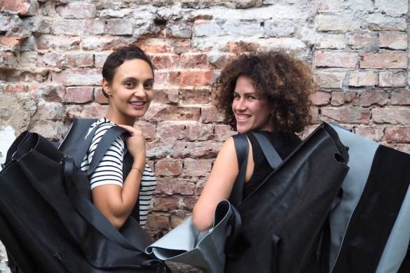 Mimycri - bags from refugee boats | GreenMe Berlin Podcast