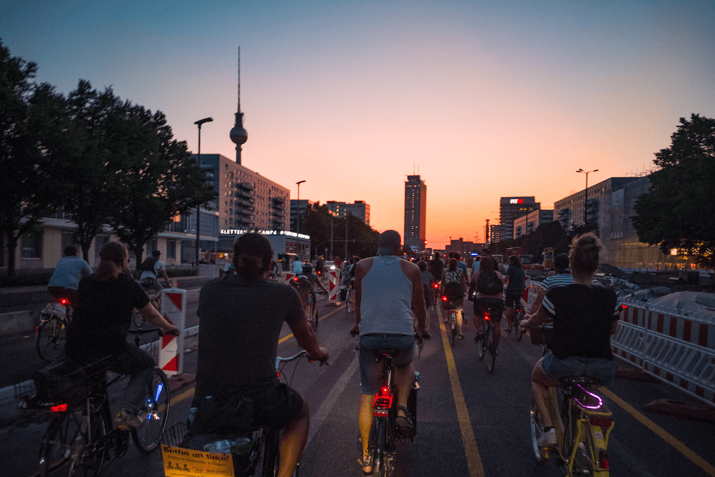 Cycling in Berlin | Critical Mass Berlin July 2019