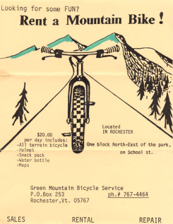 Looking for some FUN? Rent a Mountain Bike.