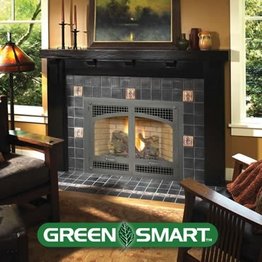 Avalon Seattle Space Saver Gas Fireplace