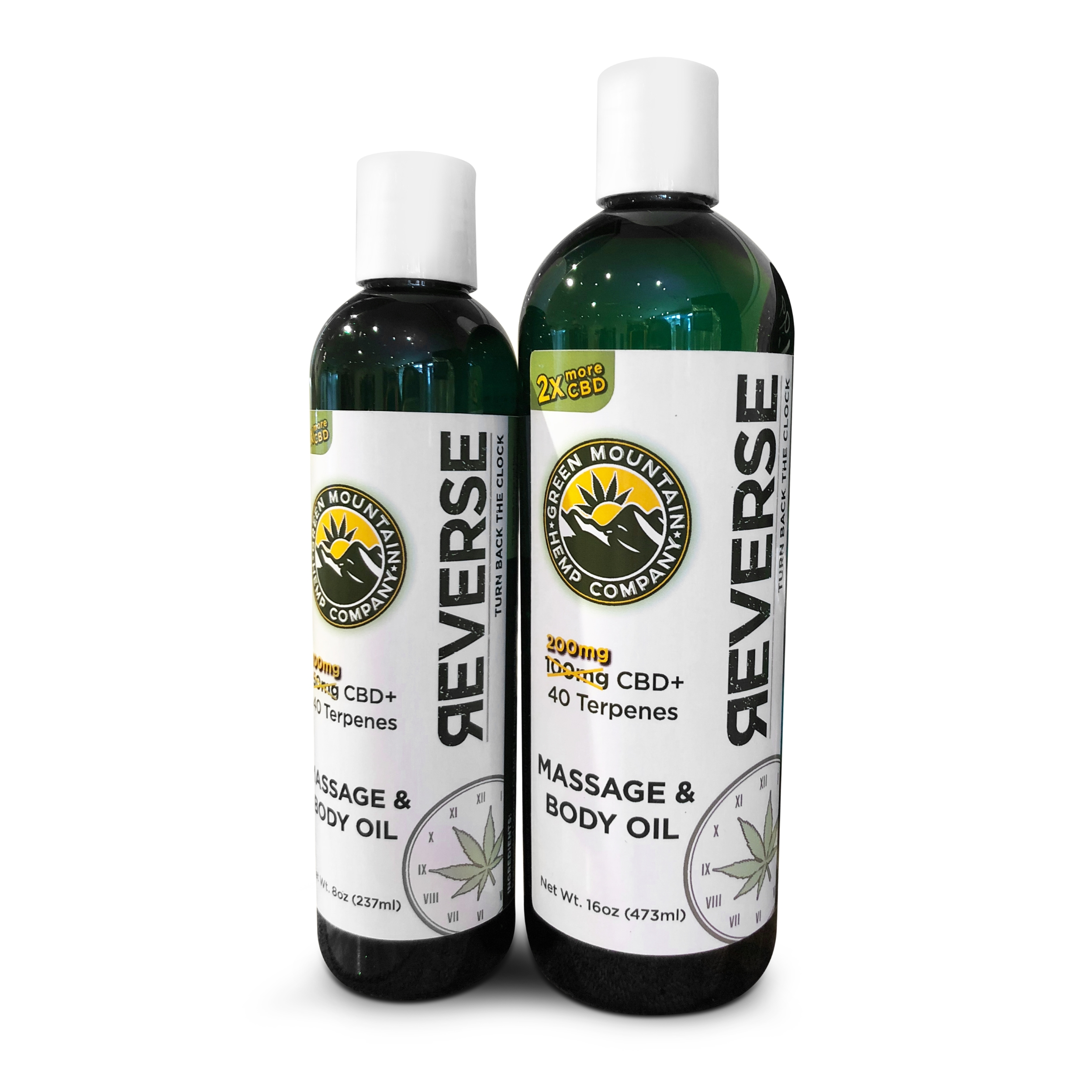REVERSE CBD Massage Oil / Body Oil - Unscented & Lavender