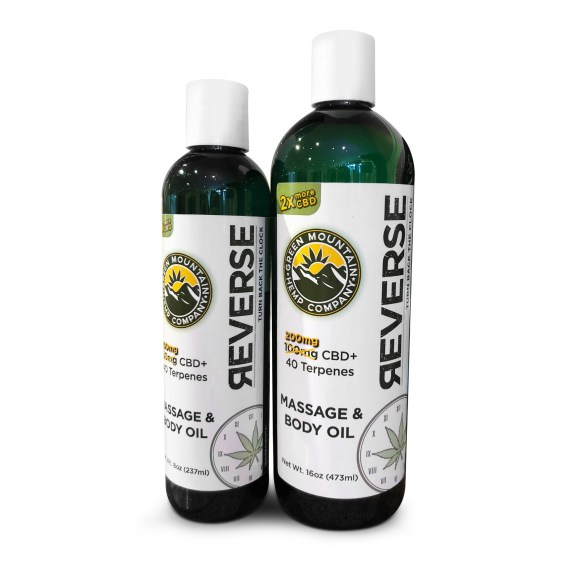 GMHC Reverse CBD Massage Oil