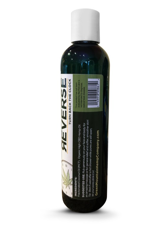 Green Mountain Hemp Company Reverse Massage Oil