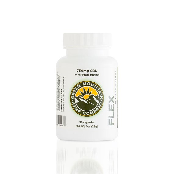 Flex CBD Capsules from Green Mountain Hemp Company