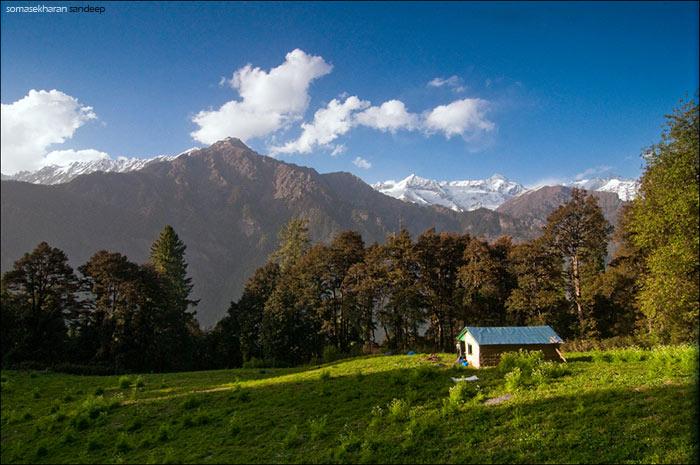 The camp at Humkhani