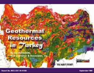 Turkeygeothermal
