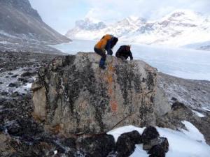 Baffin Island moraine