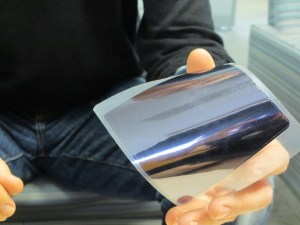 Alta Devices Thin Solar Cell Material