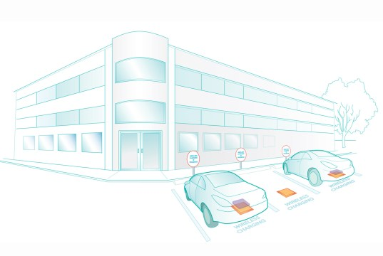Electric Vehicle Inductive Charging Pads
