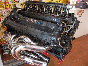 Ferrari Formula 1 V12 Racing Engine - Unheard at the Formula e Races in 2014