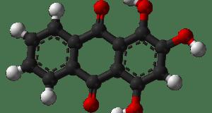 Purpurin Molecular Model