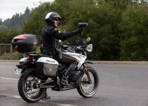 Zero Motorcycles Zero S Law Enforcement Model - More Power, Speed, and Range