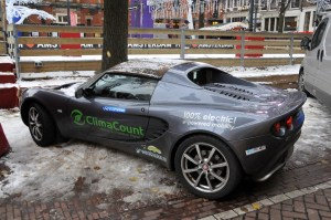 Modified Full-Electric Lotus Elise in Amsterdam